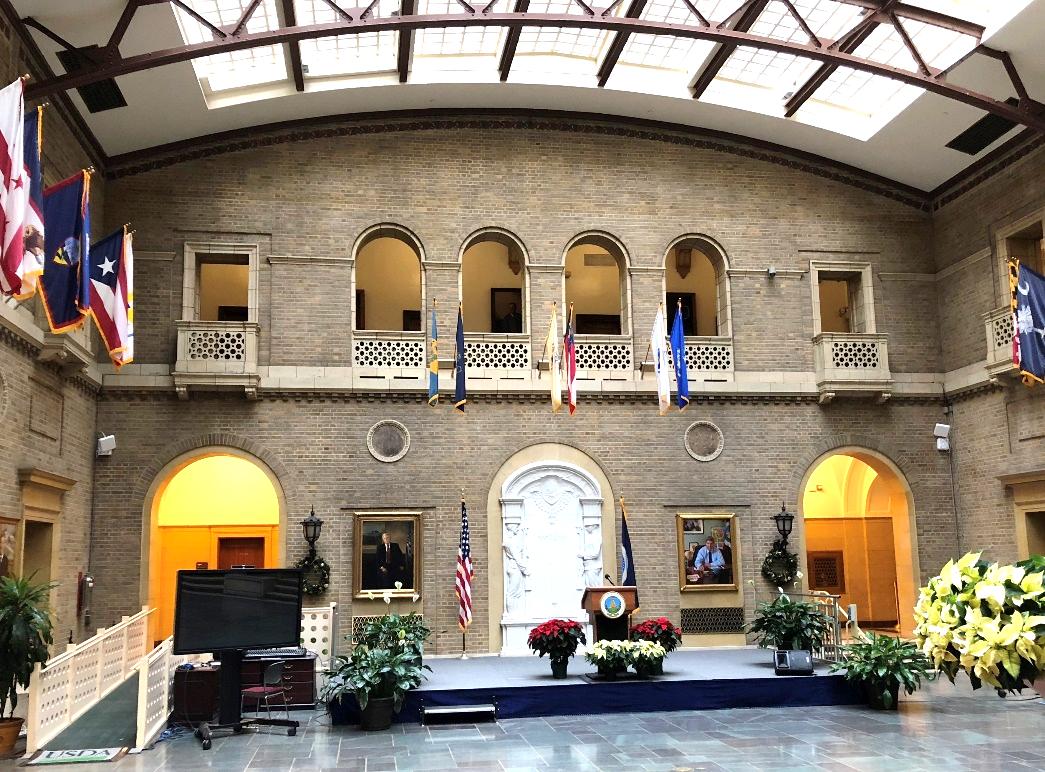 USDA Whitten Building Entry Court; Washington, D. C.
