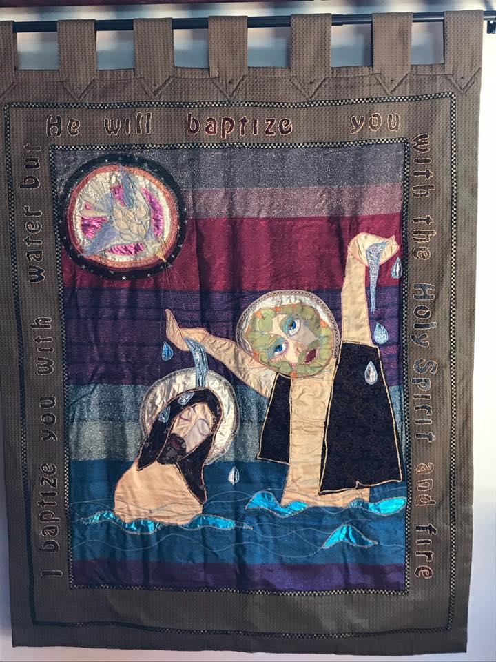 Banner of the St. John the Baptist & Christ
