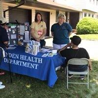 Health Department Booth at Market Fair 2019