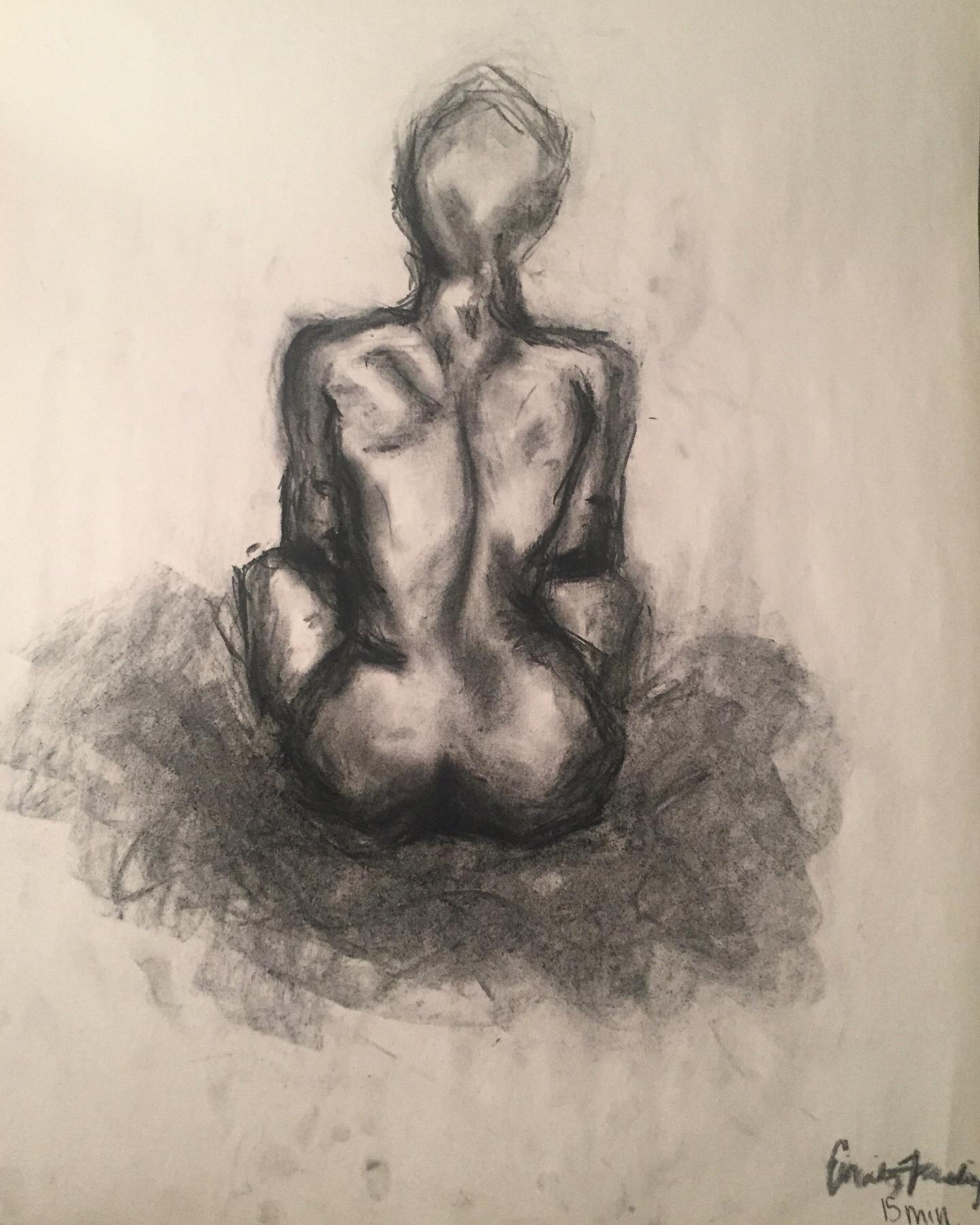 15 min. Figure drawing