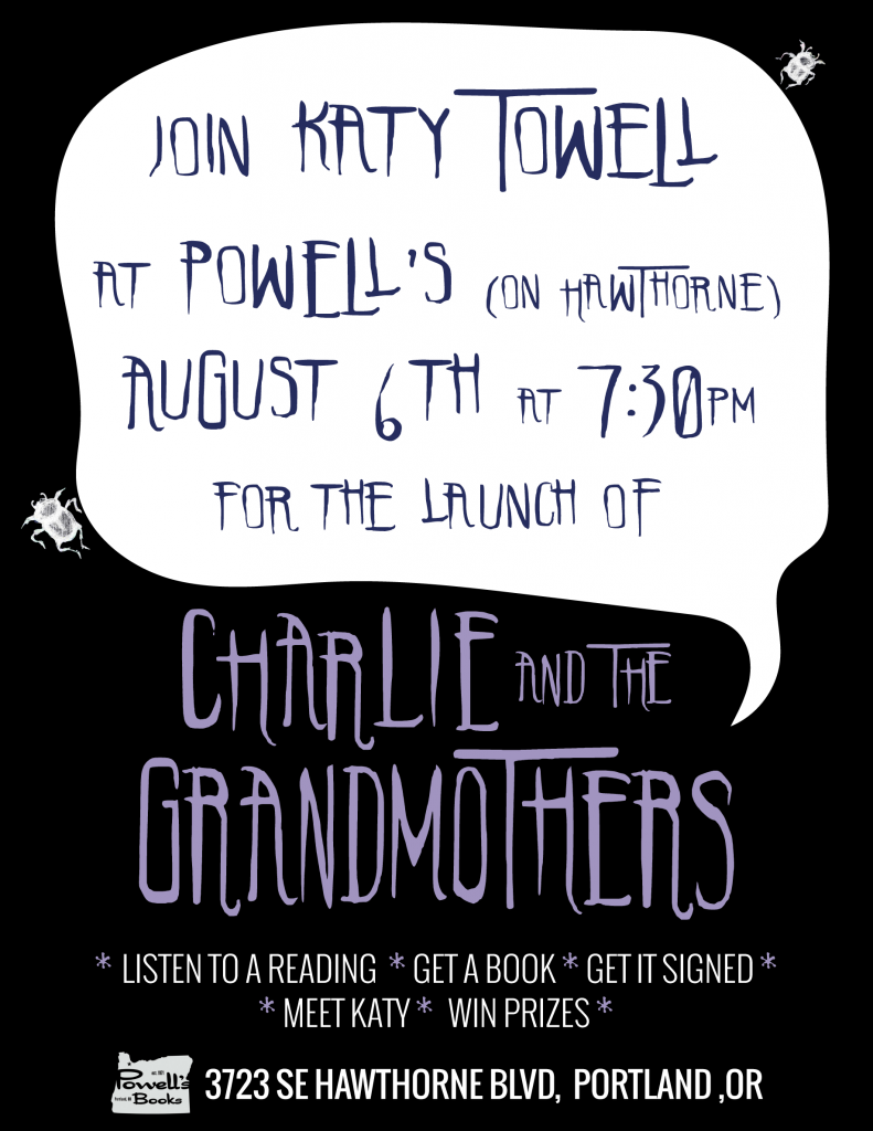 Book Signing at Powell's on August 6th