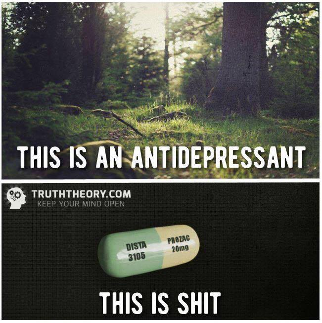 ...said the Photoshop hobbyist who's never once experienced clinical depression.