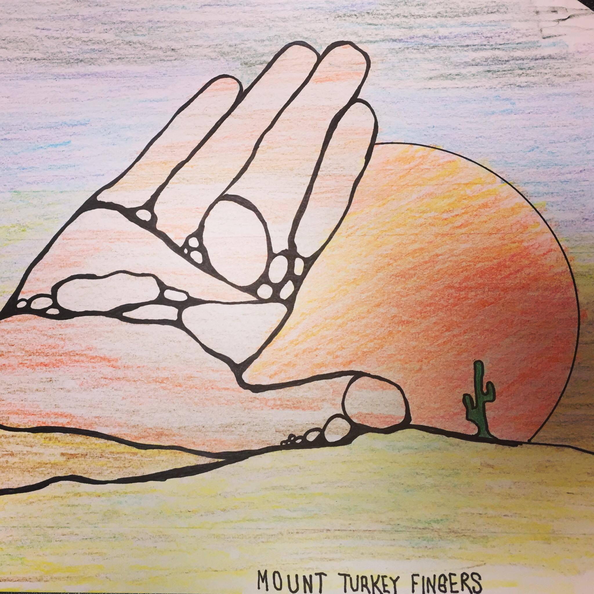 Lydia's Mysterious Mount Turkey Fingers