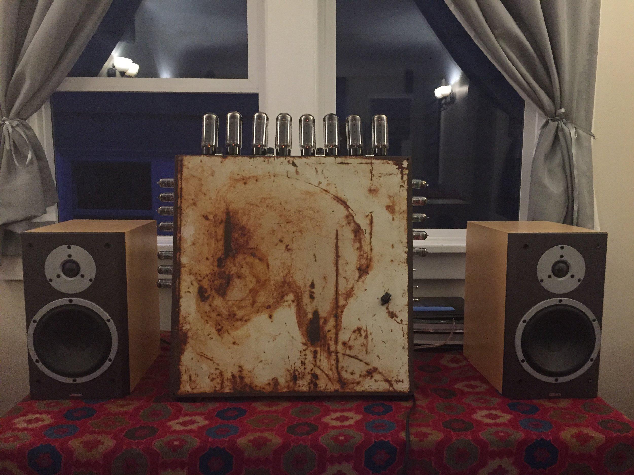 Wild steampunk tube stereo