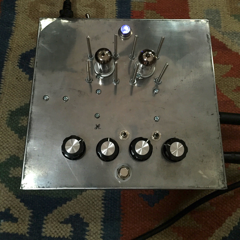 tube distortion pedal prototype