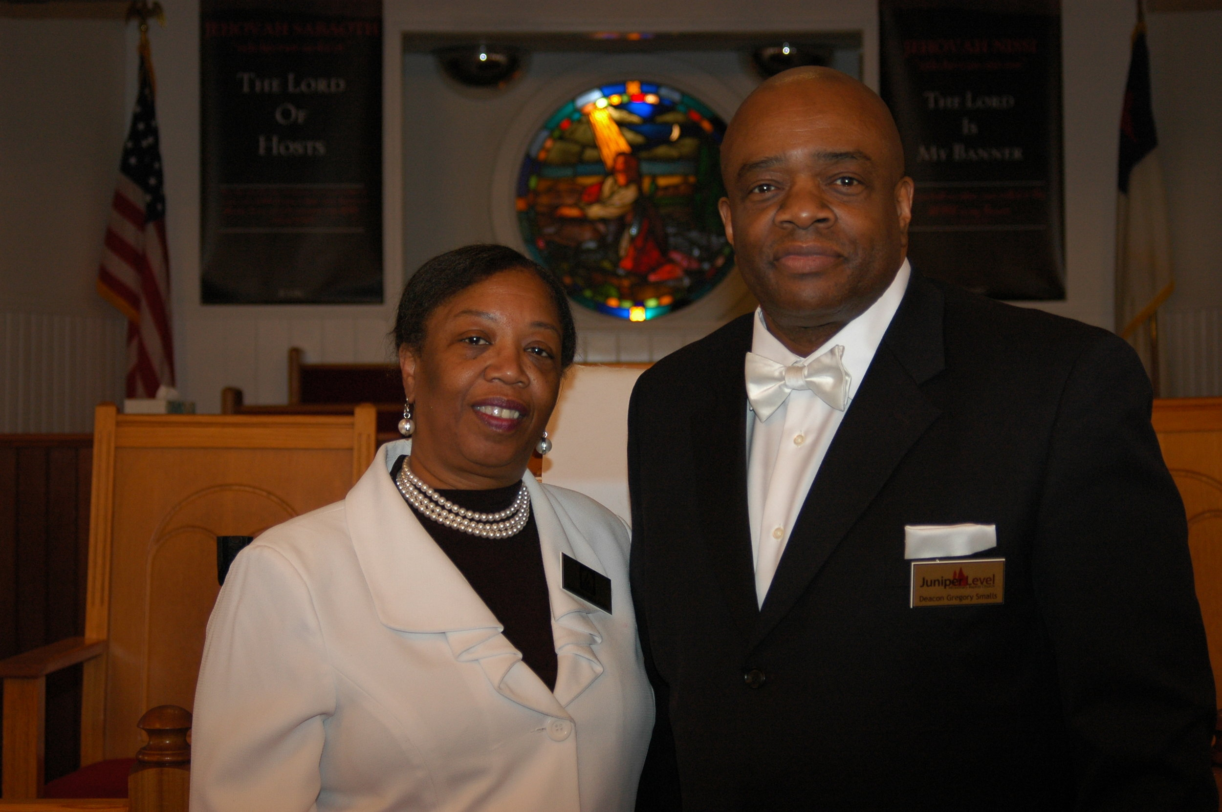 Deacon and Deaconess Gregory and Yvette Smalls