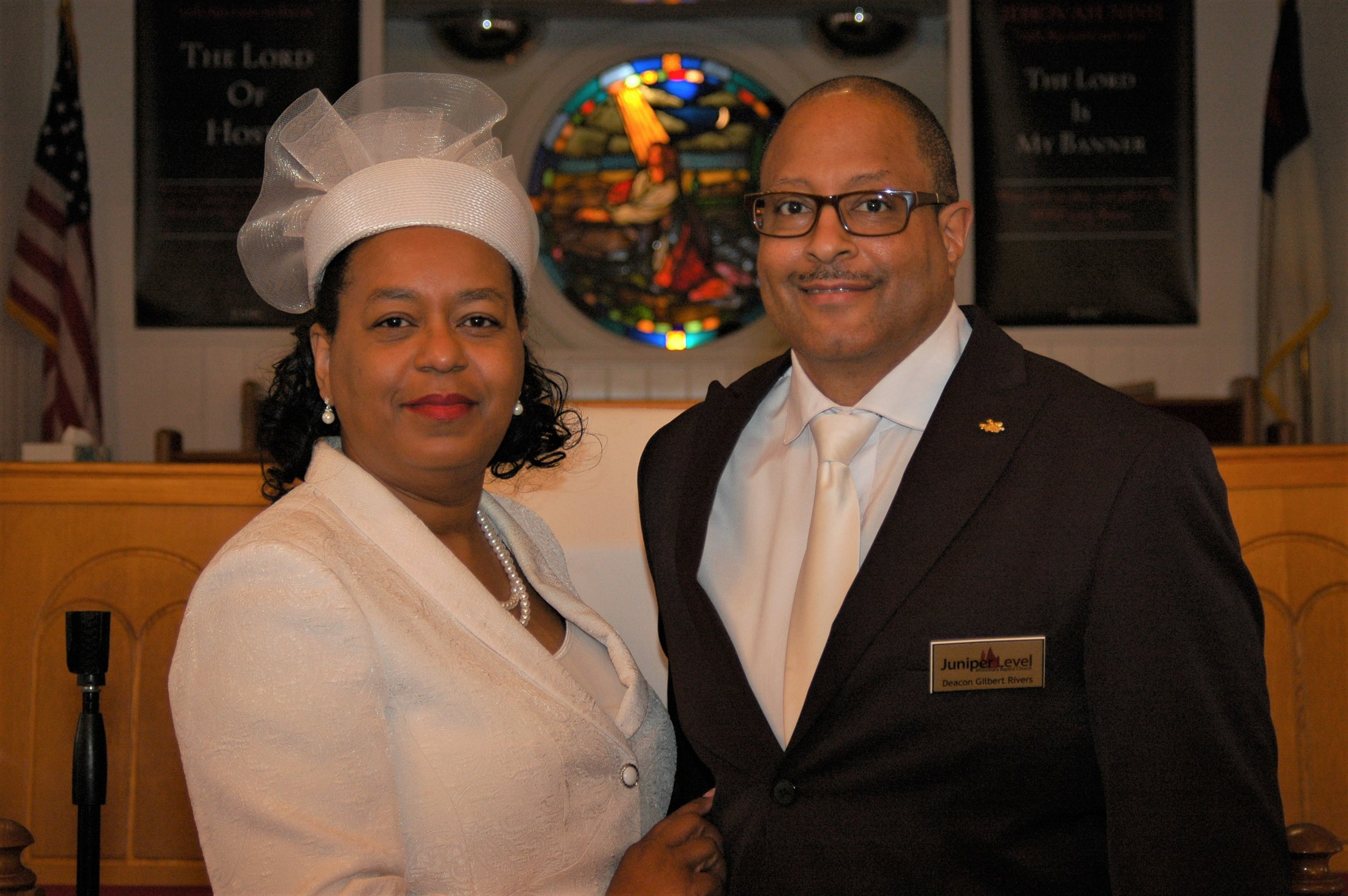 Deacon and Deaconess Gilbert and Sylvia Rivers
