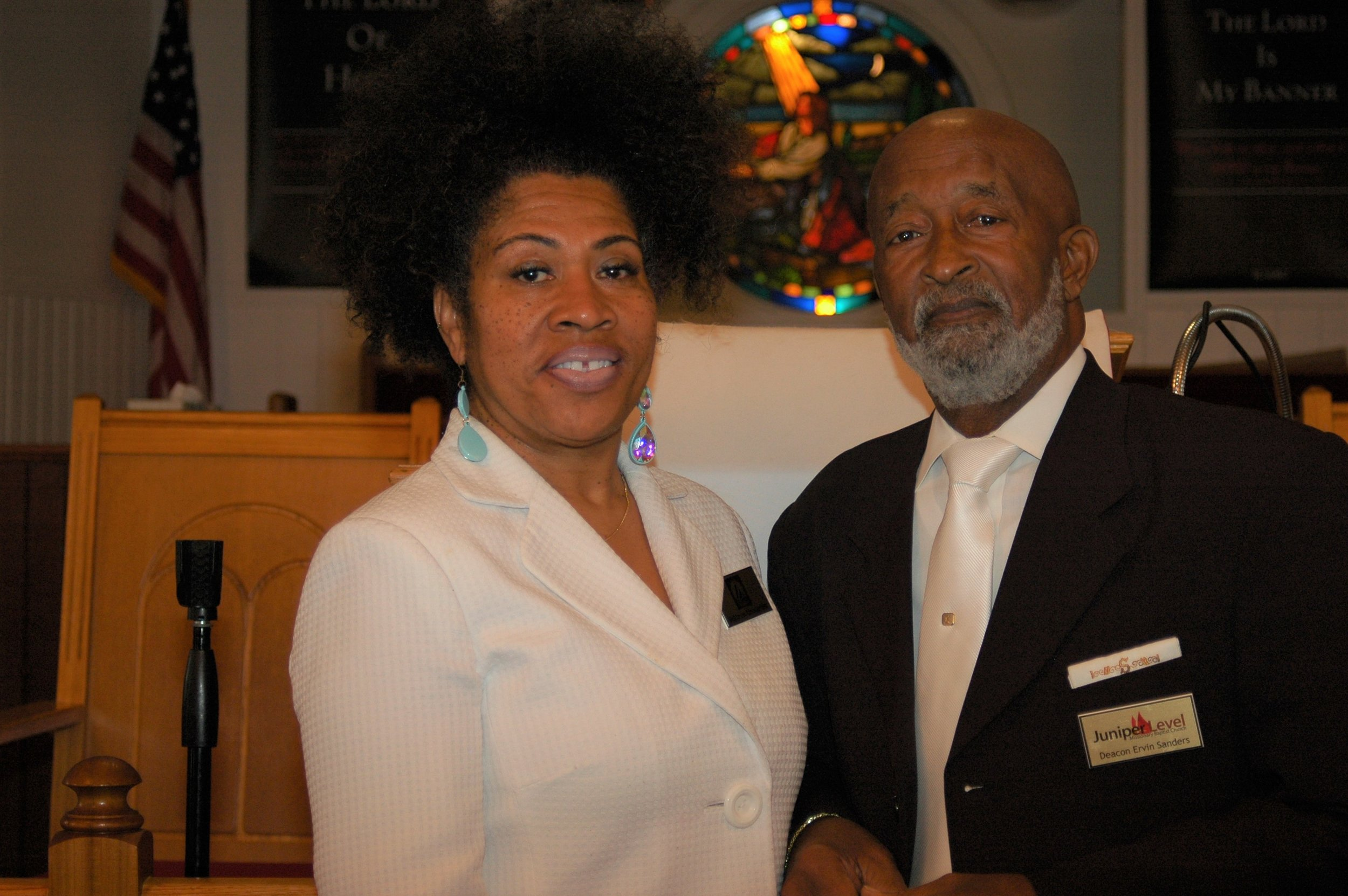 Deacon and Deaconess Ervin and Robin Sanders