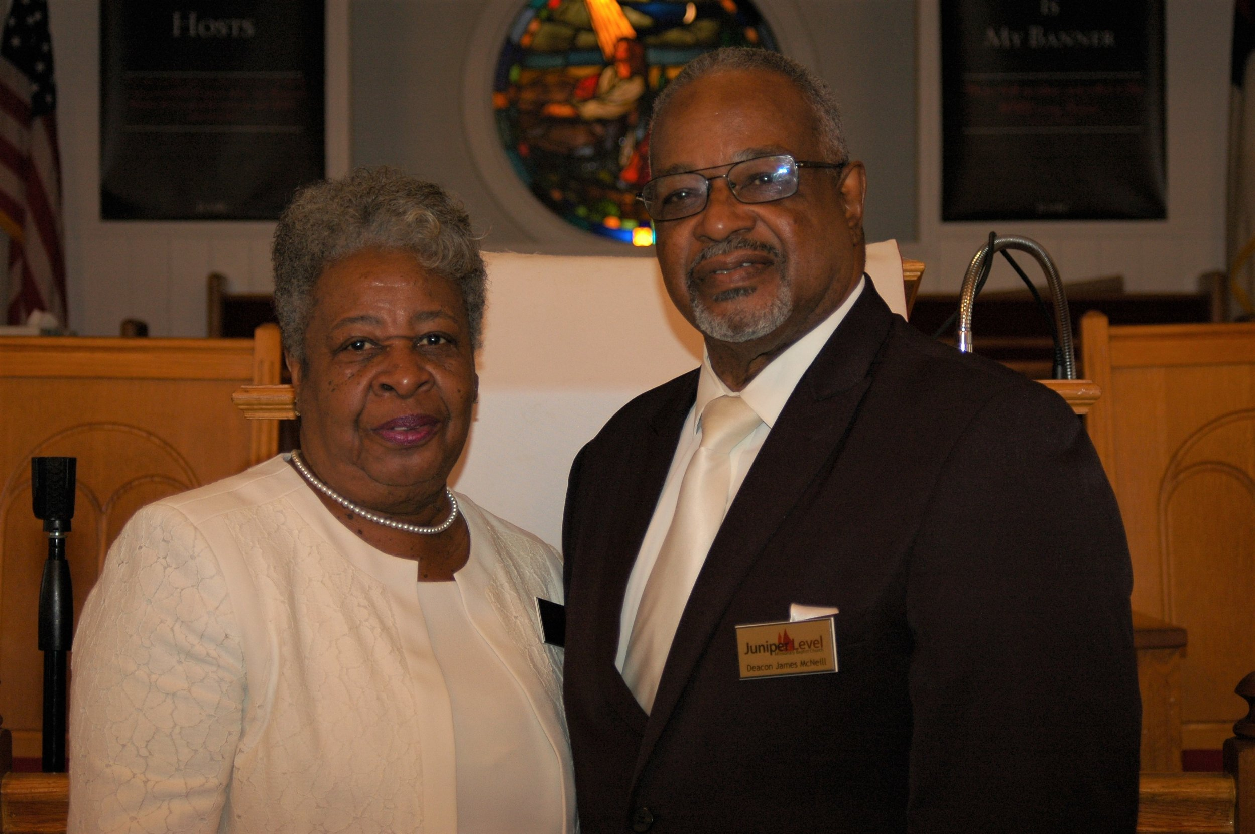 Deacon and Deaconess James and Janice McNeill