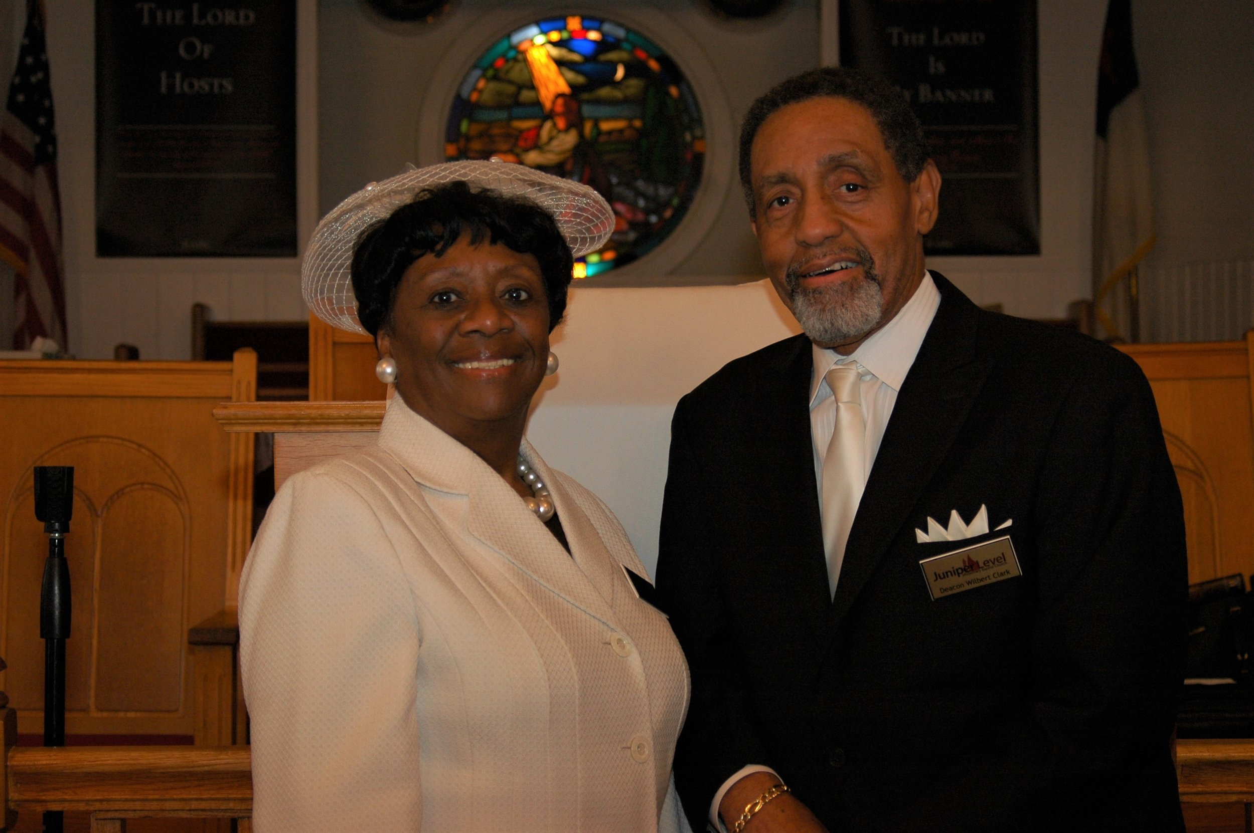 Deacon and Deaconess Wilbert and Charlotte Clark