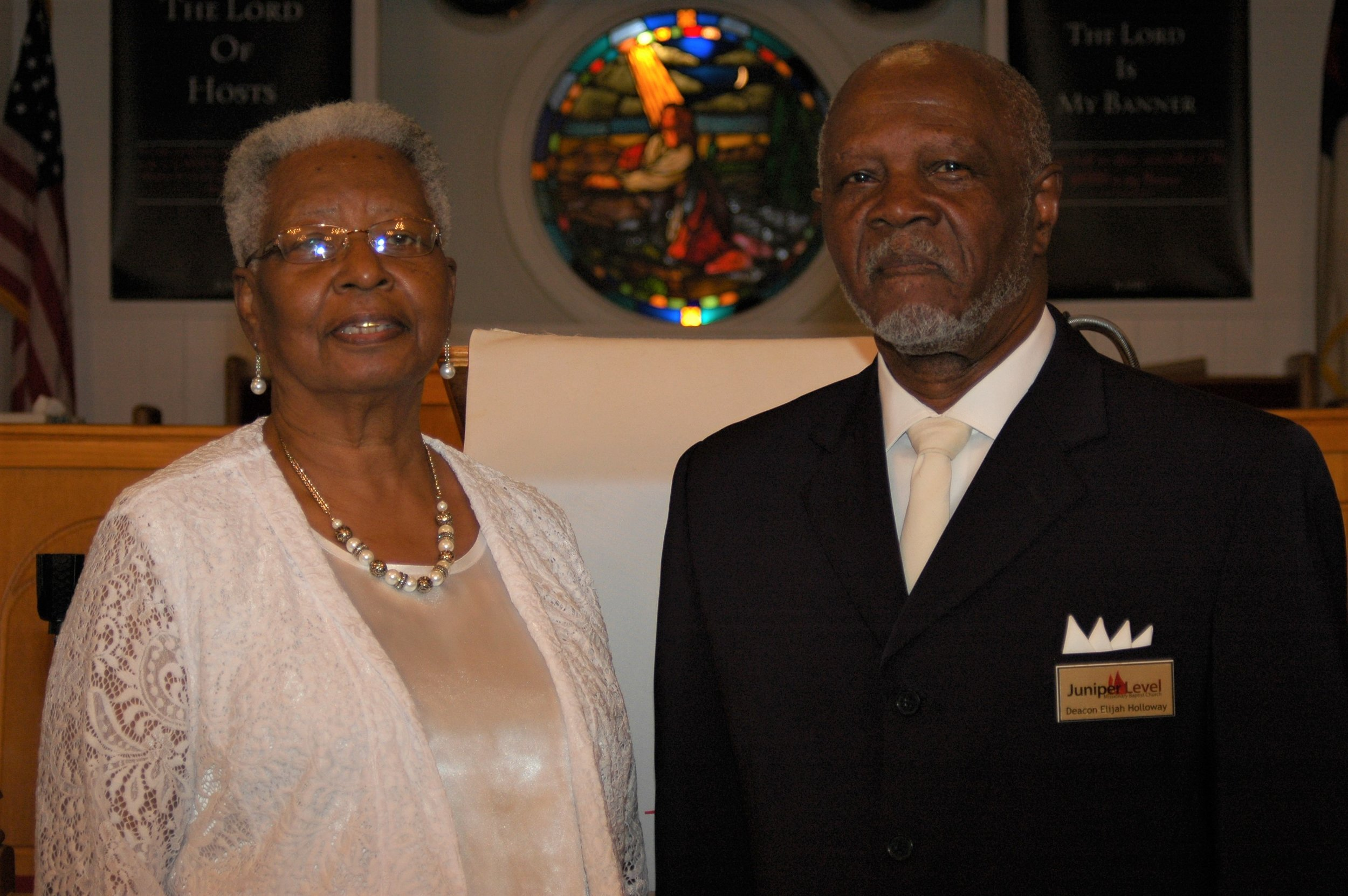 Deacon and Deaconess Elijah and Ruby Holloway