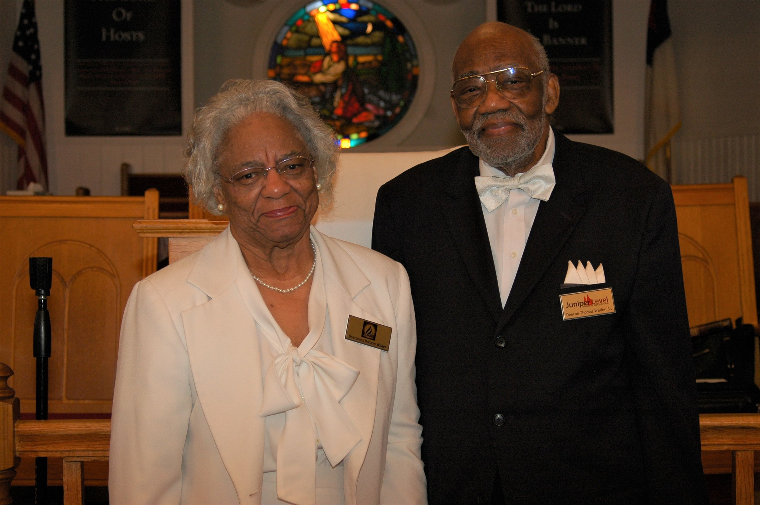 Deacon and Deaconess Thomas and Delores Wilder