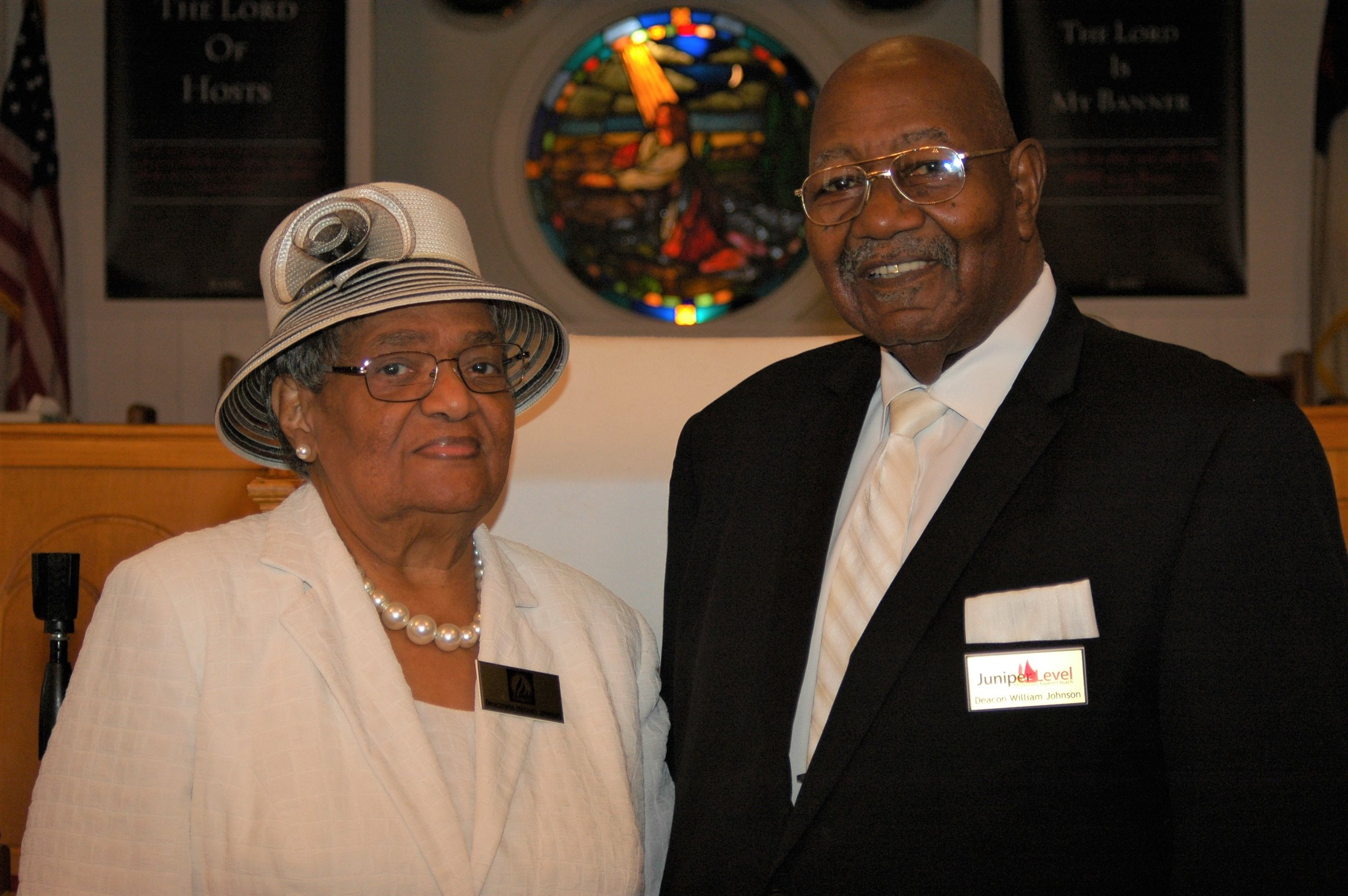 Deacon and Deaconess William and Hannah Johnson