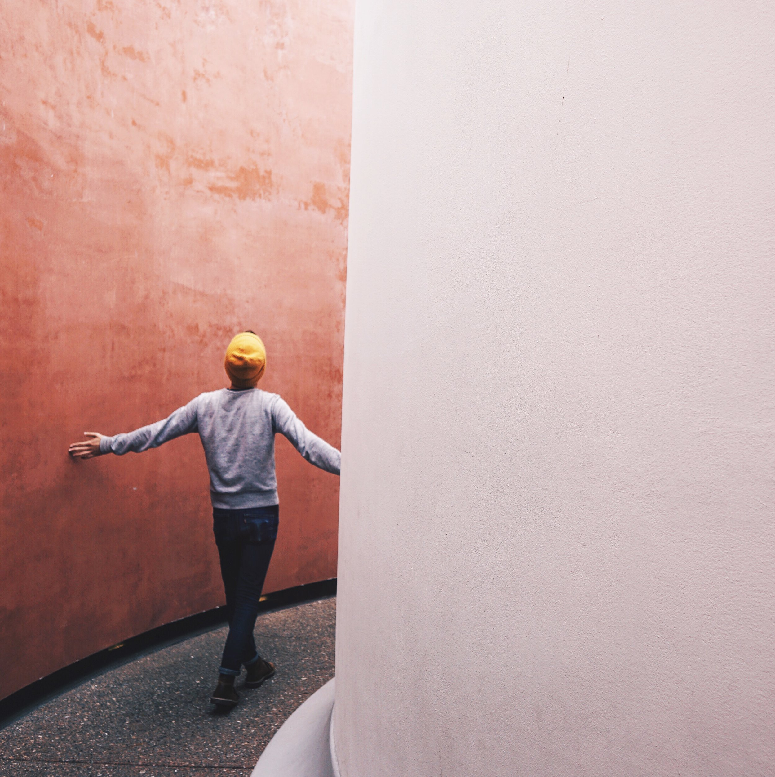 One of James Turrell's Skyspaces at the DeYoung. One of our favorite artists.