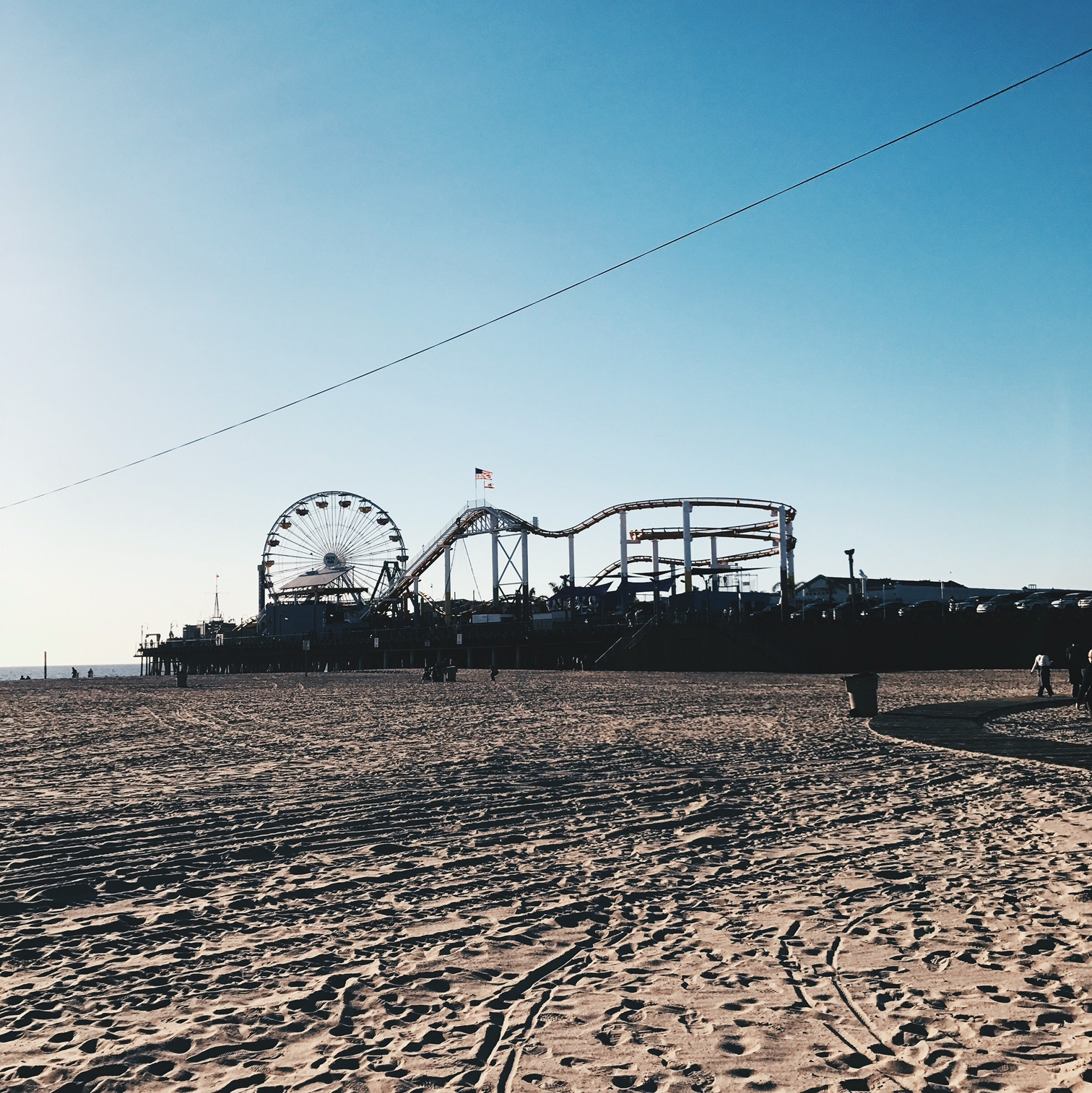 Santa Monica, always quite lovely.
