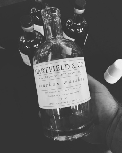 Hartfield & Company is the first Bourbon distillery in Bourbon County since Prohibition. Today, the distillery makes a variety of spirits and uses some unique processes such as using smaller barrels. (Photo credit: Hartfield and Company)