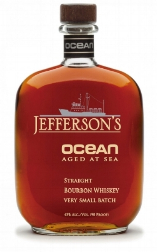 Jefferson's Ocean is aged aboard a marine research vessel where the salty air and the movement of the sea impact the aging process. Jefferson's is offering a fan (and guest) the chance to see how it happens. (Photo: Jefferson's Bourbon)