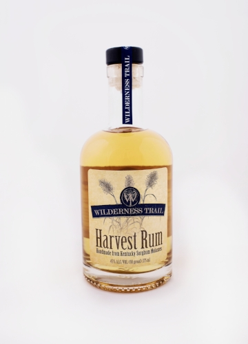 Wilderness Trail Distillery's Holiday Open House includes a special single-barrel cask-strength release of Harvest Rum today and tomorrow. (Photo: Wildnerness Trail Distillery)