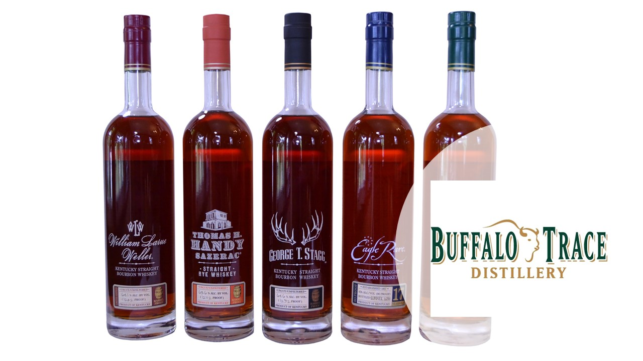 Buffalo Trace has unveiled its annual Antique Collection of bourbons and ryes. (Photo credit: Buffalo Trace)