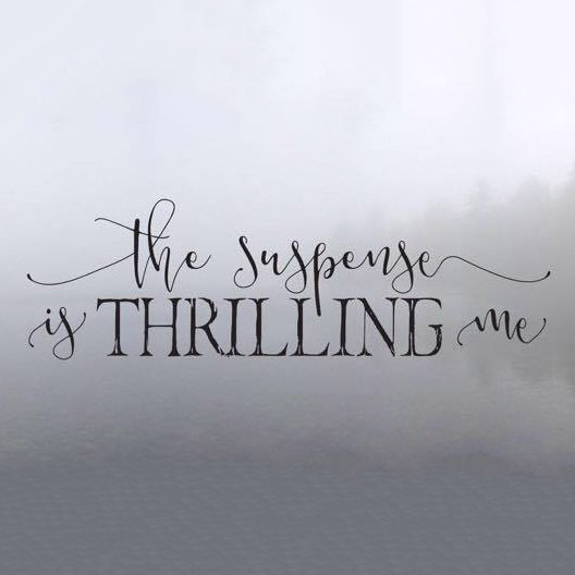 Nonfiction - Editorial   Originally published as a guest post on The Suspense is Thrilling me ,  September 5, 2016