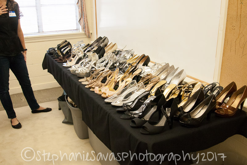 Shoes, shoes, and still more shoes. This was a fun shoot. The girls were ecstatic!