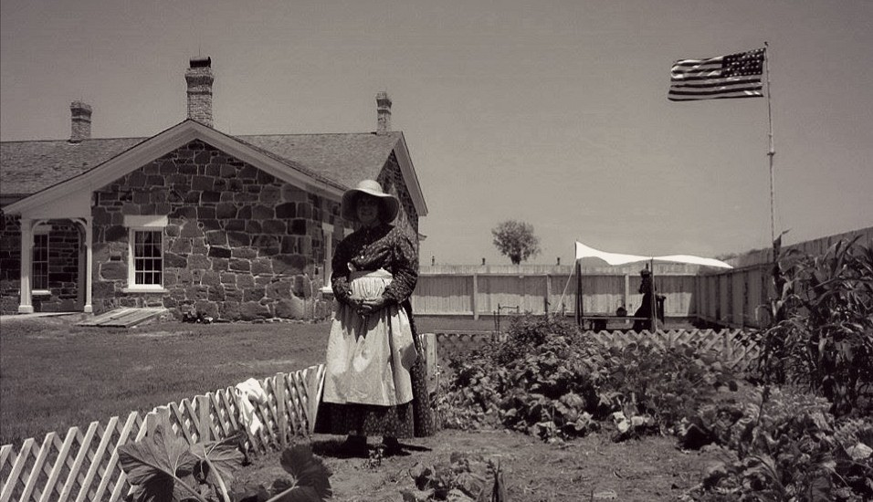 Living History at Fort Larned | Rick Yeager