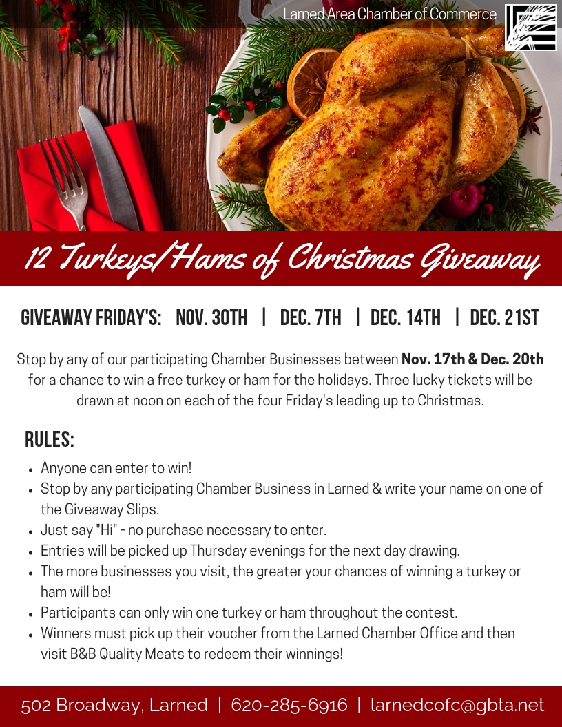 2018 12 Turkeys Hams of Christmas Giveaway.jpg