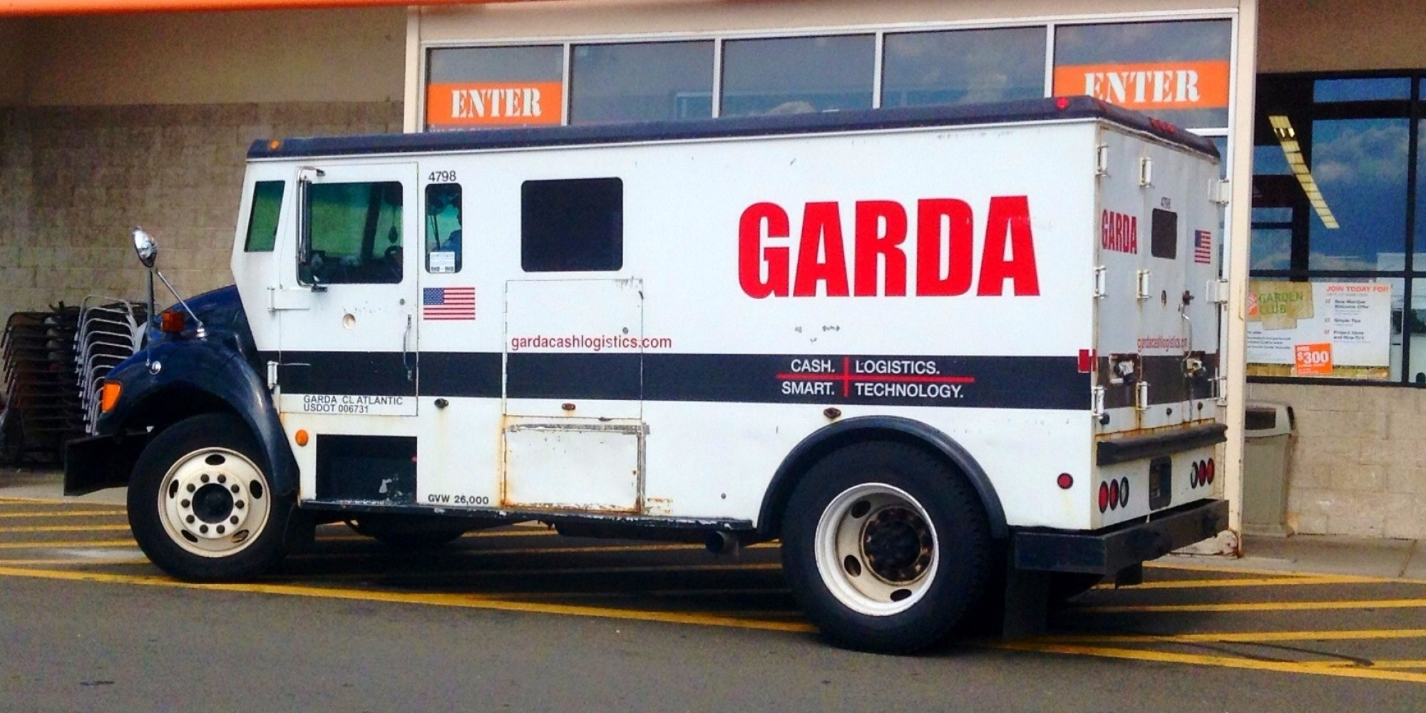 Armored Truck for Cash & Product Transport