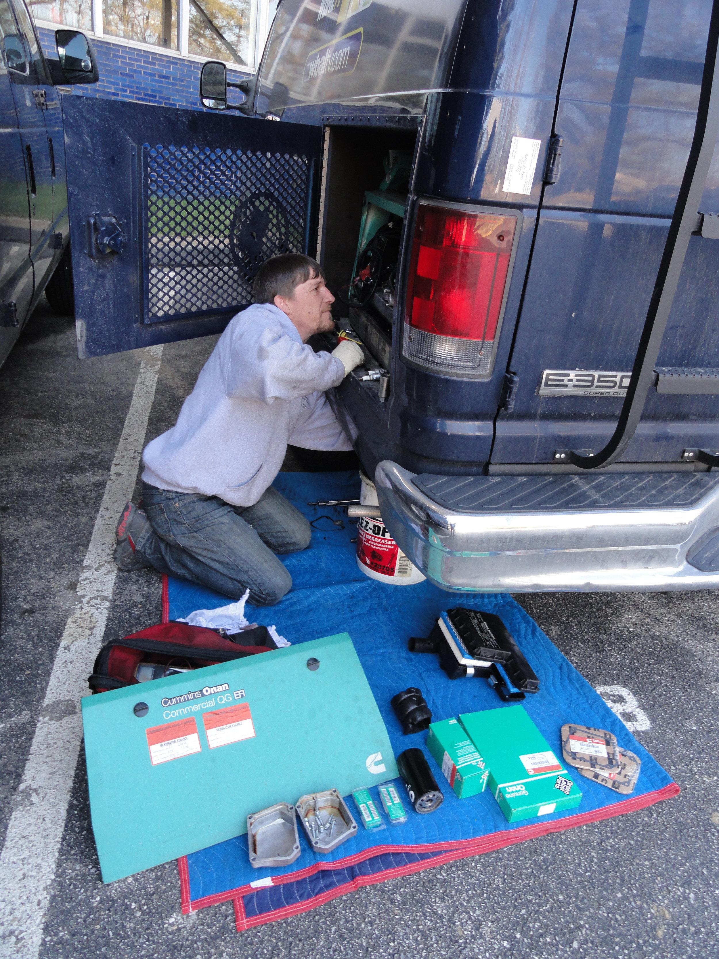 65 CVS - Service - Onsite Generator Maintenance pic #1.JPG