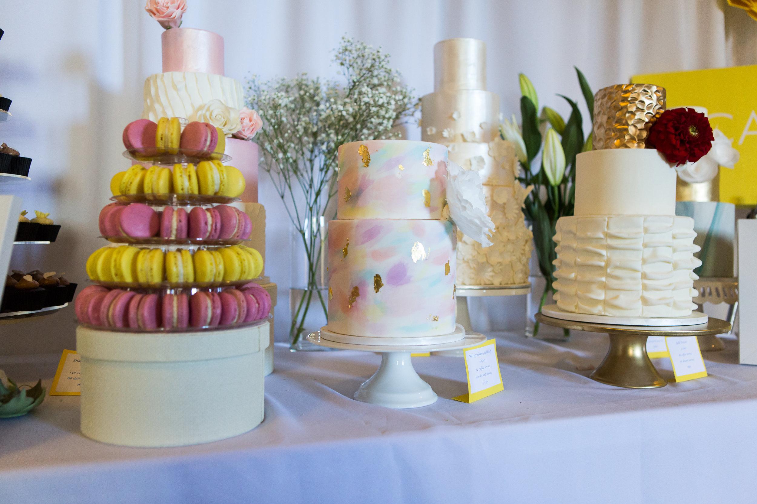 Beautiful wedding cakes Perth