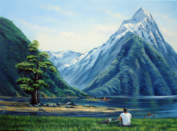 MITRE PEAK - MILFORD SOUNDS