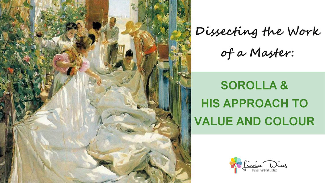 Sorolla & his Approach to Value and Colour Course