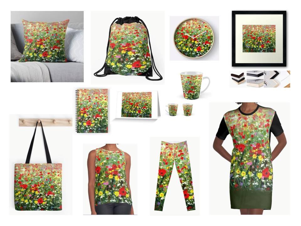 wildflowers art