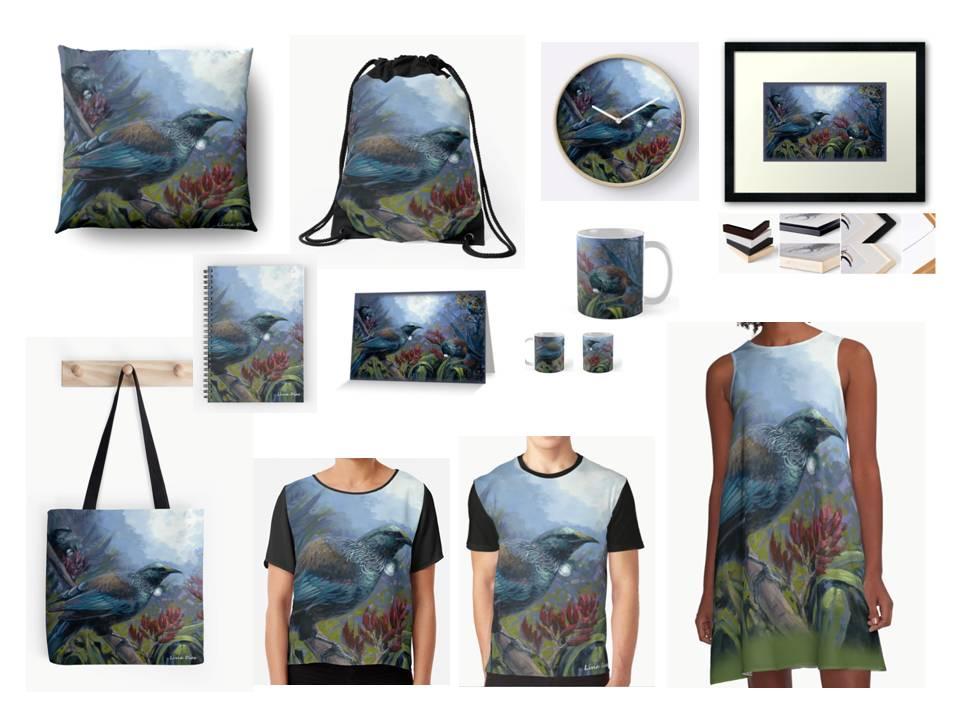 tui bird art collection
