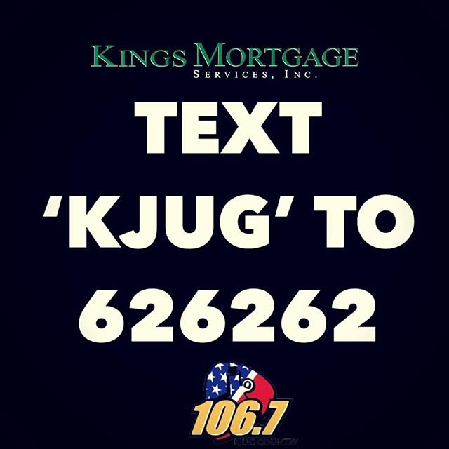 """📲 Text KJUG to """"626262"""" or call and donate ☎️ 800-726-4673 @1067kjugcountry @kingsmortgage #partnerinhope #stjude #centralvalley"""