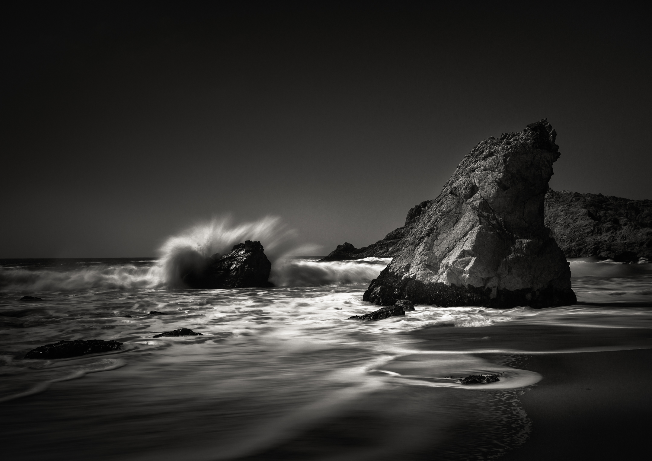 McClures Beach Inverness California