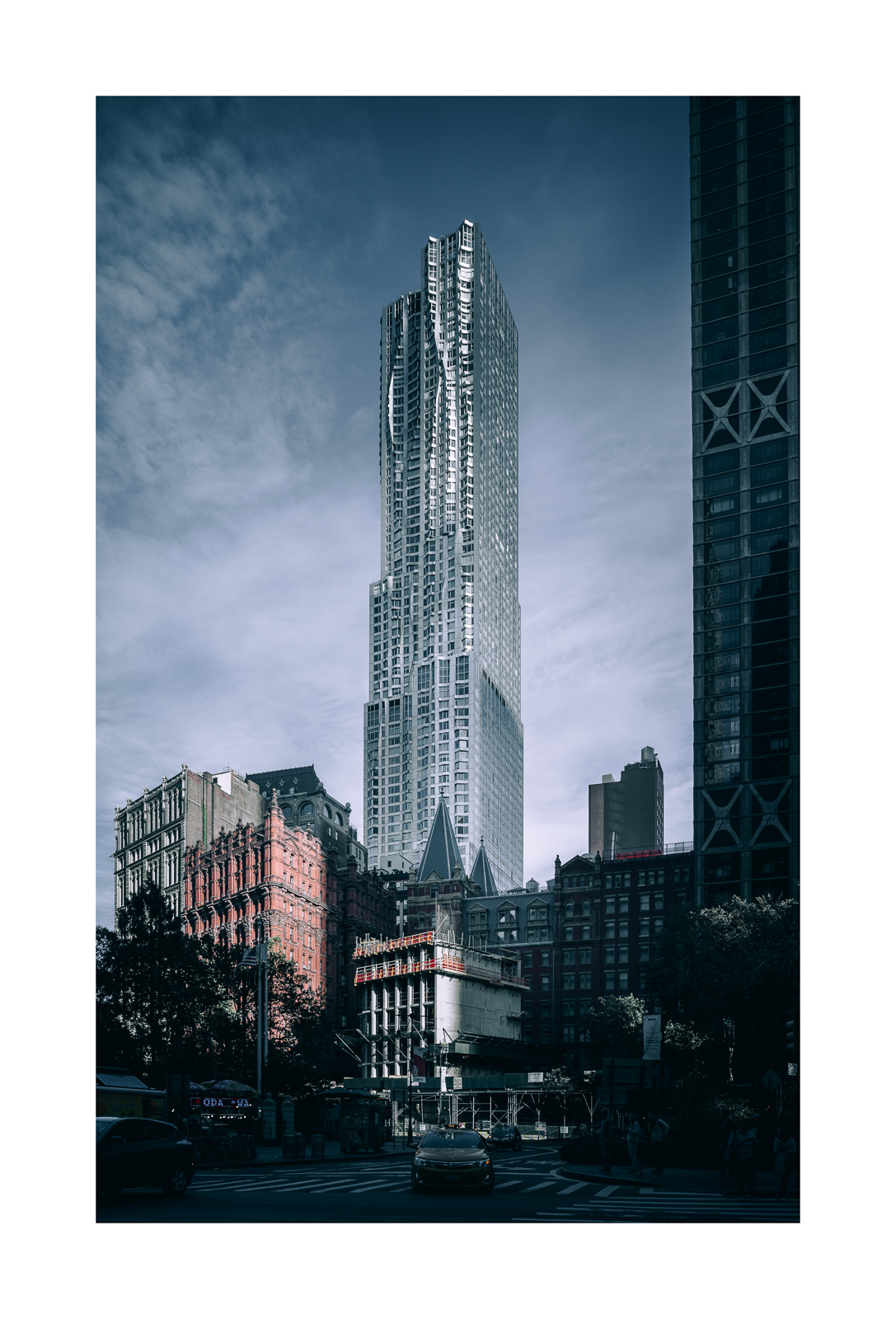 Residential Tower by Frank Gehry, New York