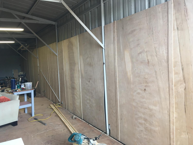 showroom progress