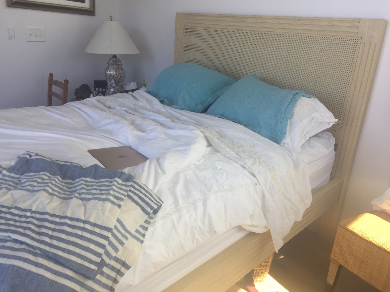 Whitewashed Ash Bed Frame