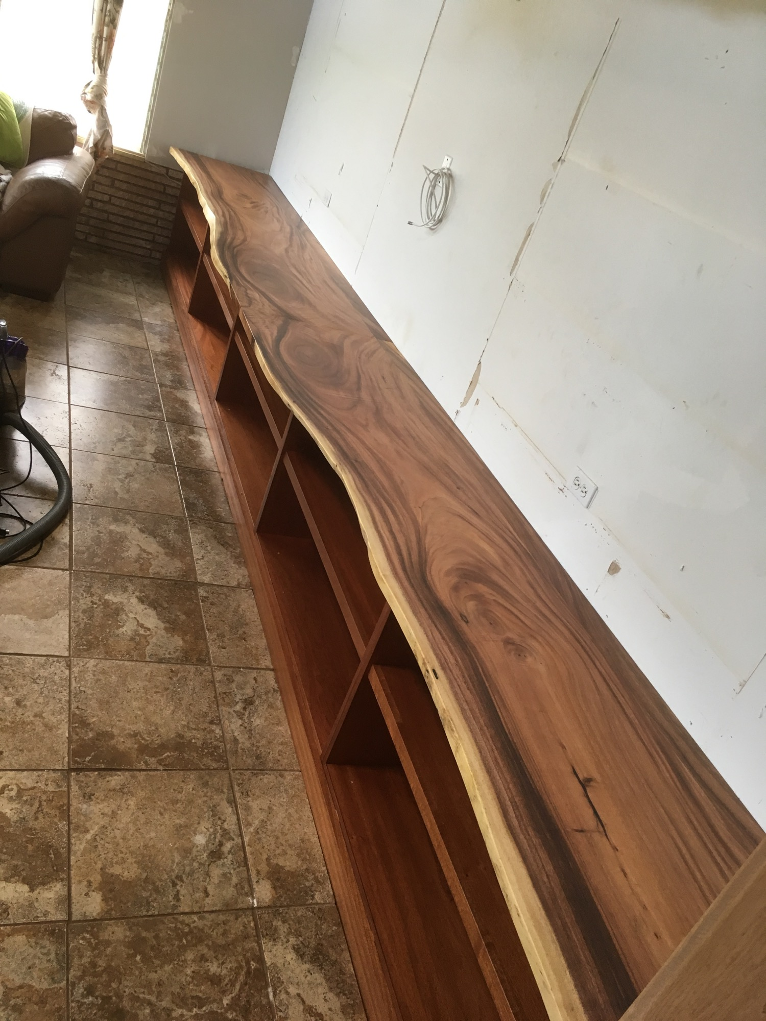 slabs installed