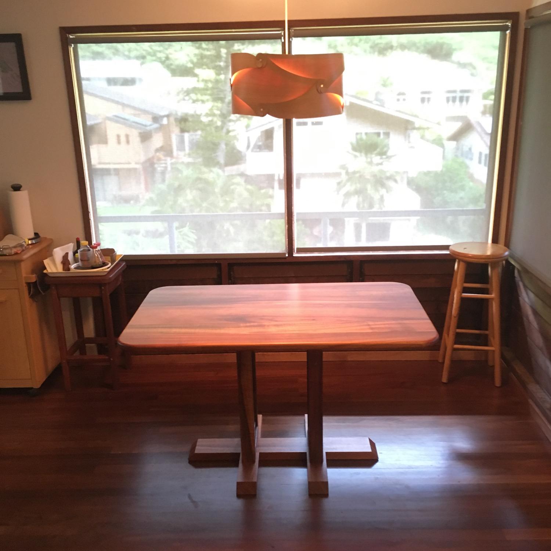 Koa kitchen table