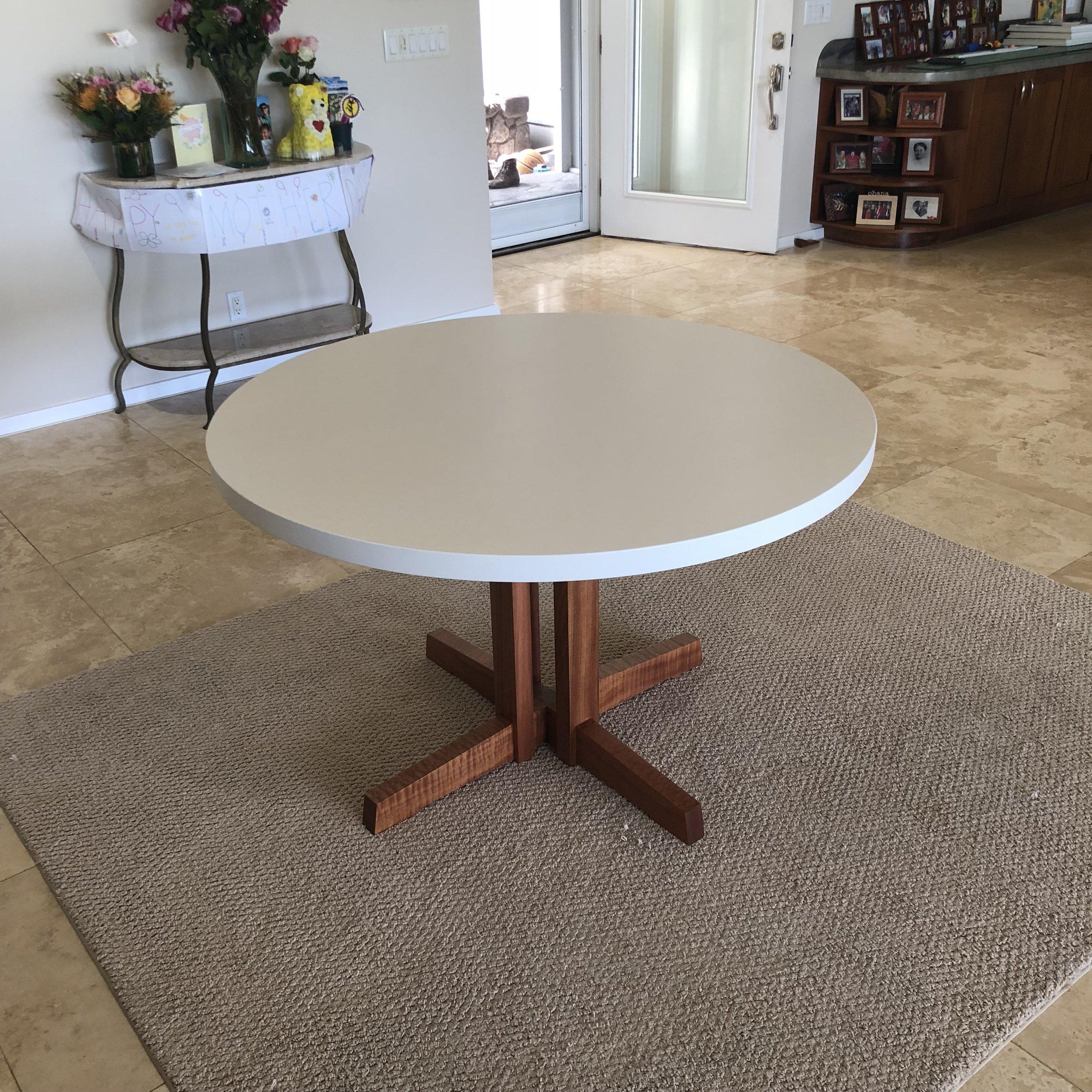 """48"""" round kitchen table."""