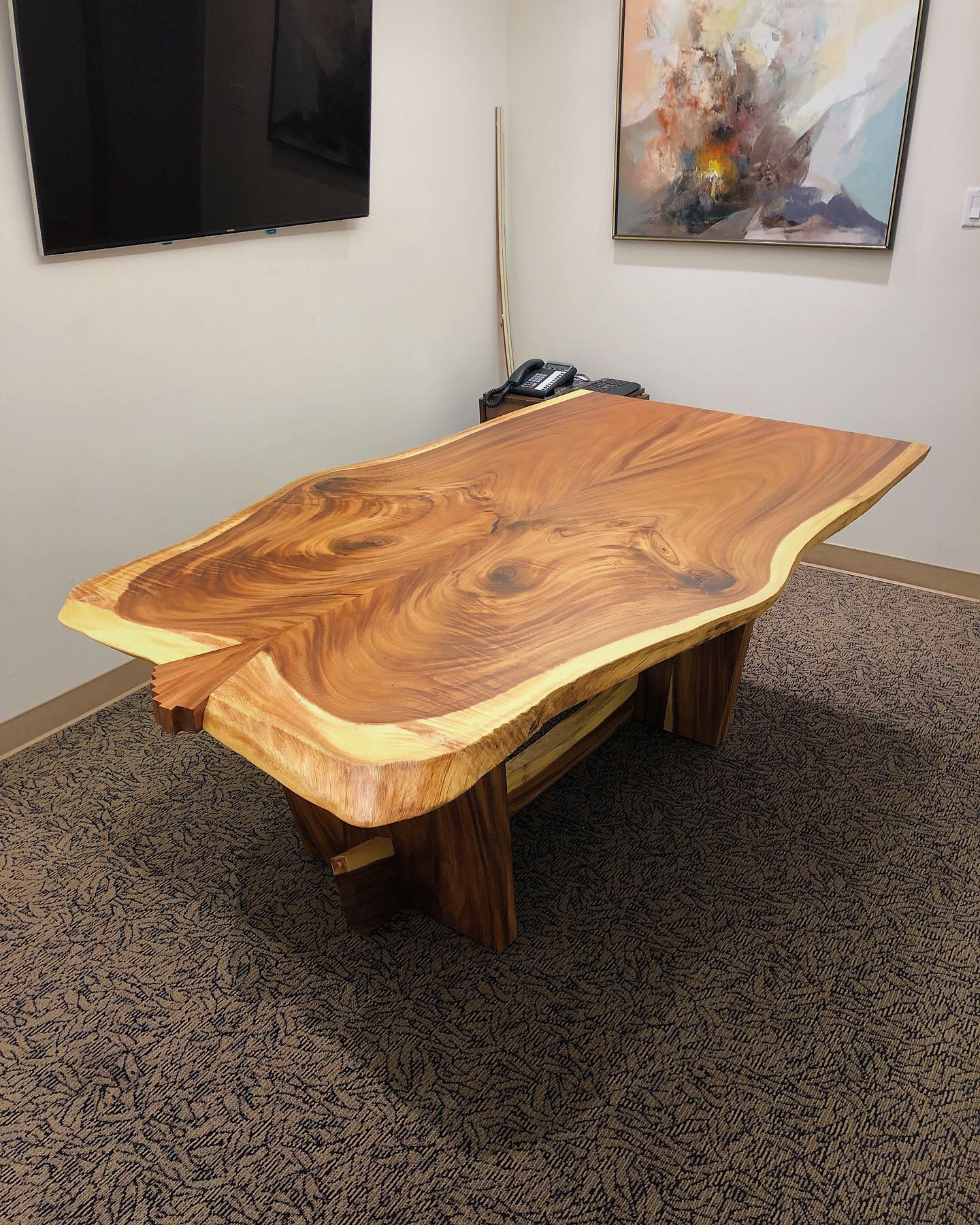 monkeypod slab table 2.JPG