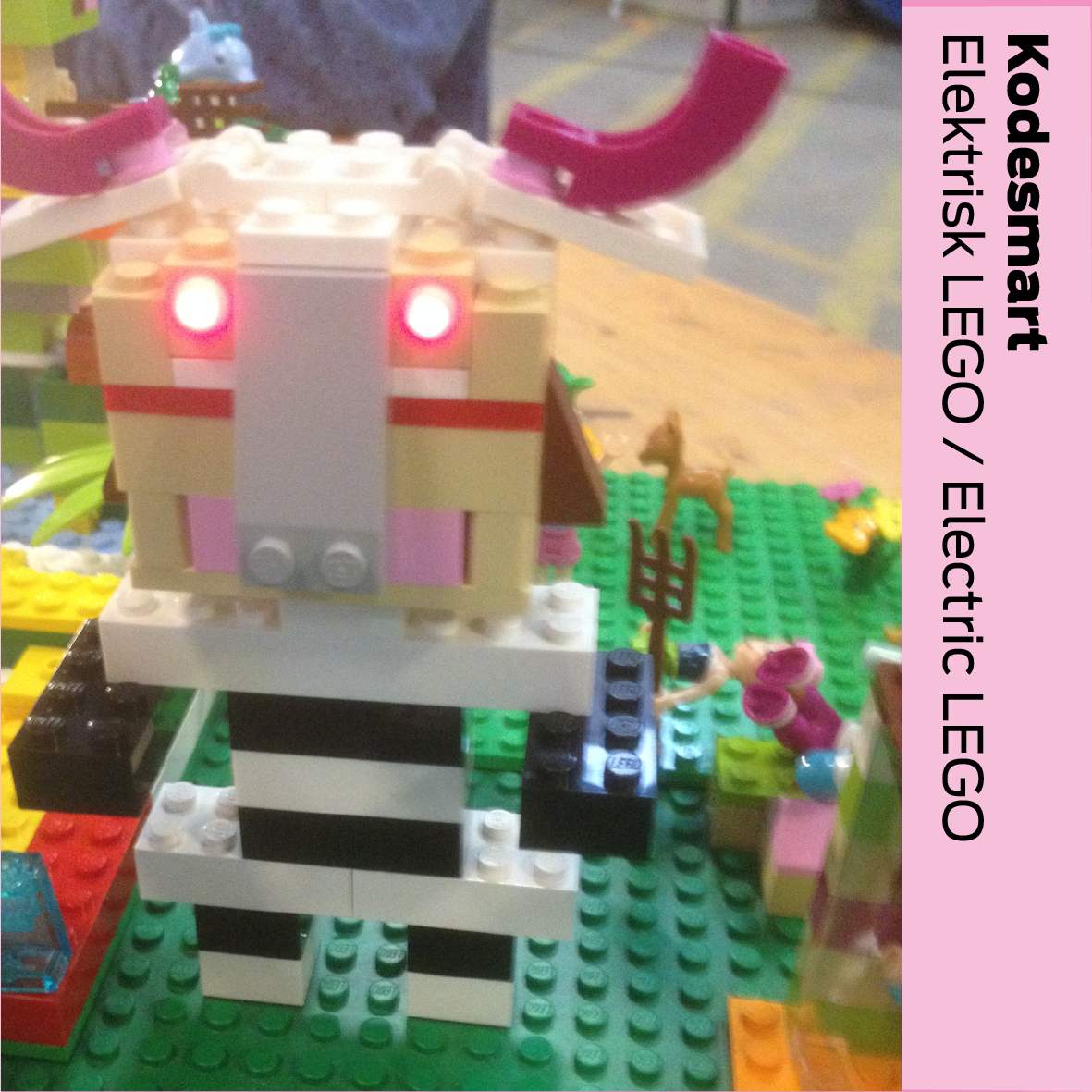 Kodesmart (DK): Elektrisk LEGO / Electric LEGO