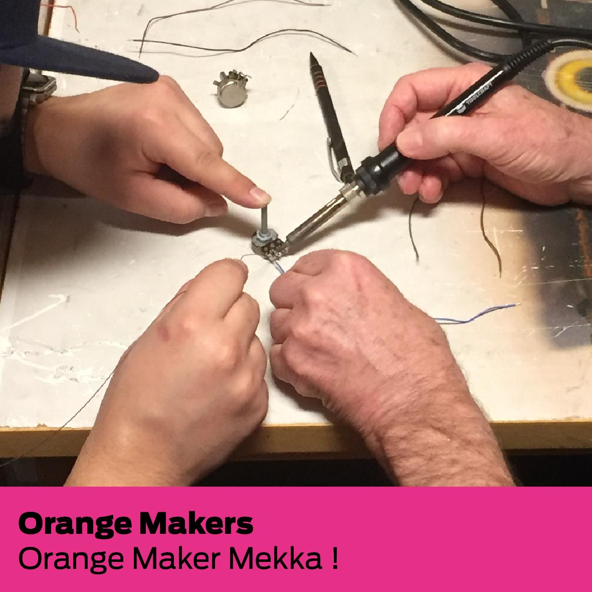 Orange Makers (DK): Orange Maker Mekka !