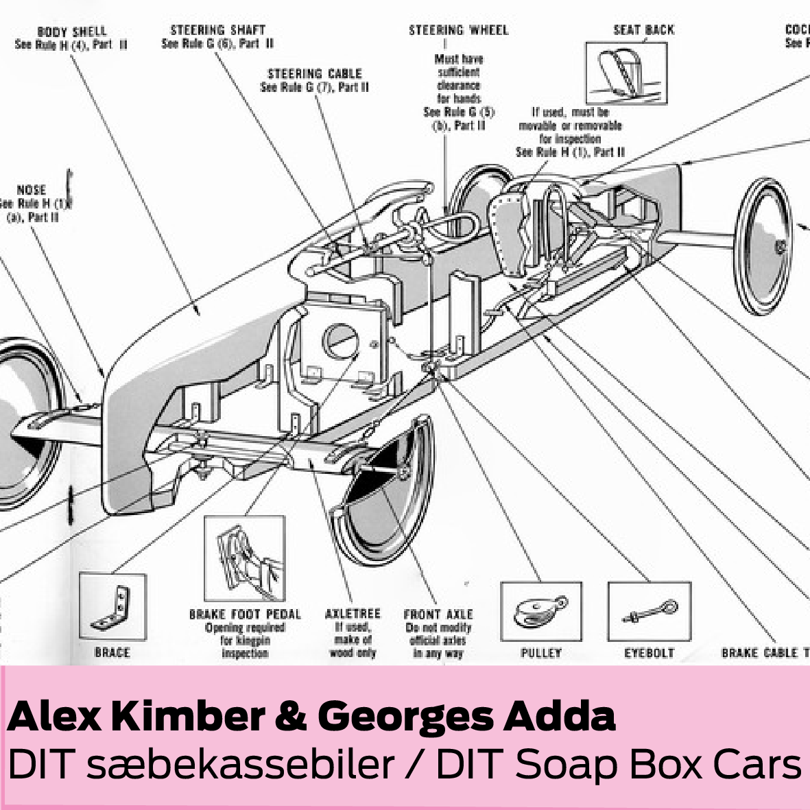 Copenhagen Fablab & Alex Kimber (DK): Byg og race med sæbekassebiler / Build and race with soap box cars