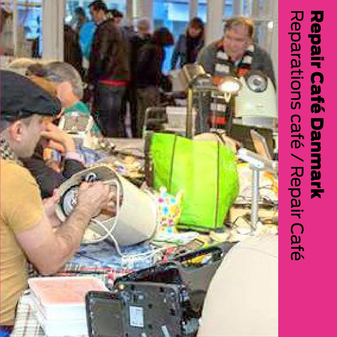 Repair Café Danmark: Reparations café / Repair cafe