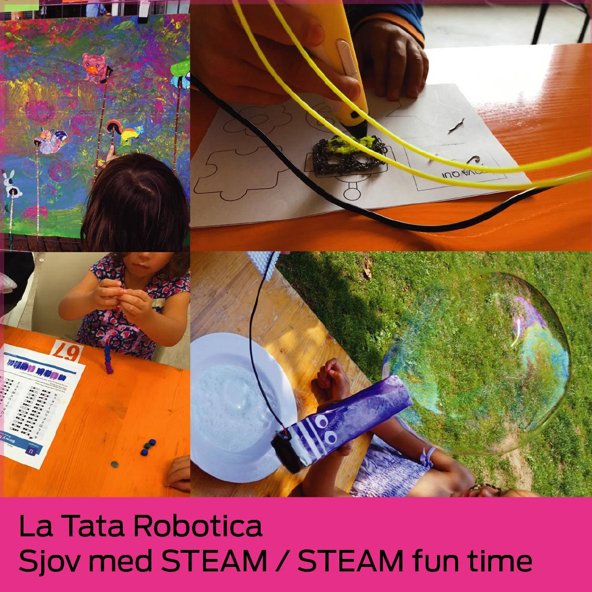 La Tata Robotica: Sjov med STEAM / STEAM fun time