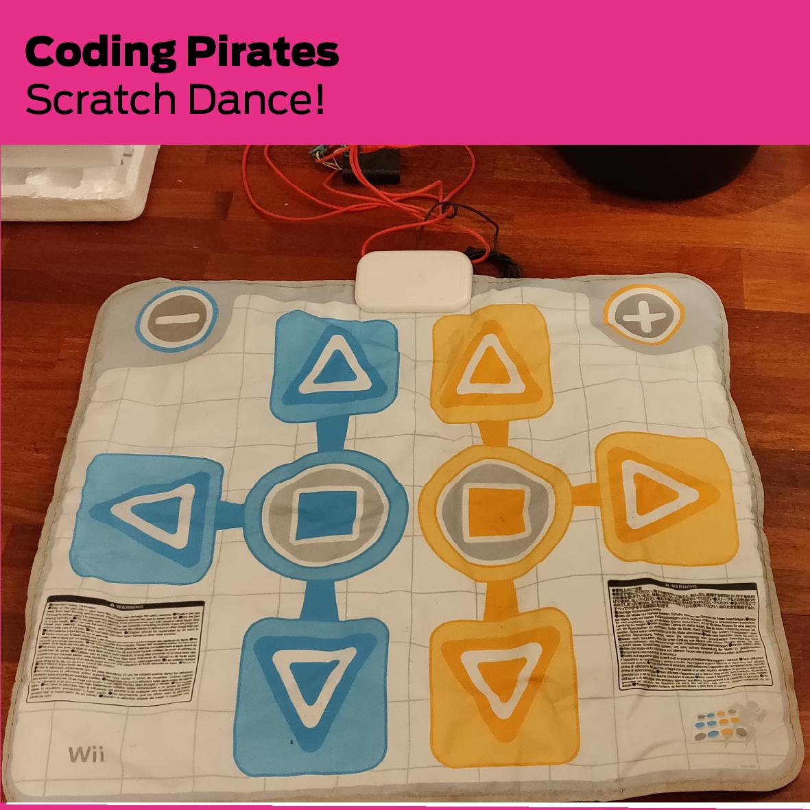Coding Pirates: Scratch Dance!