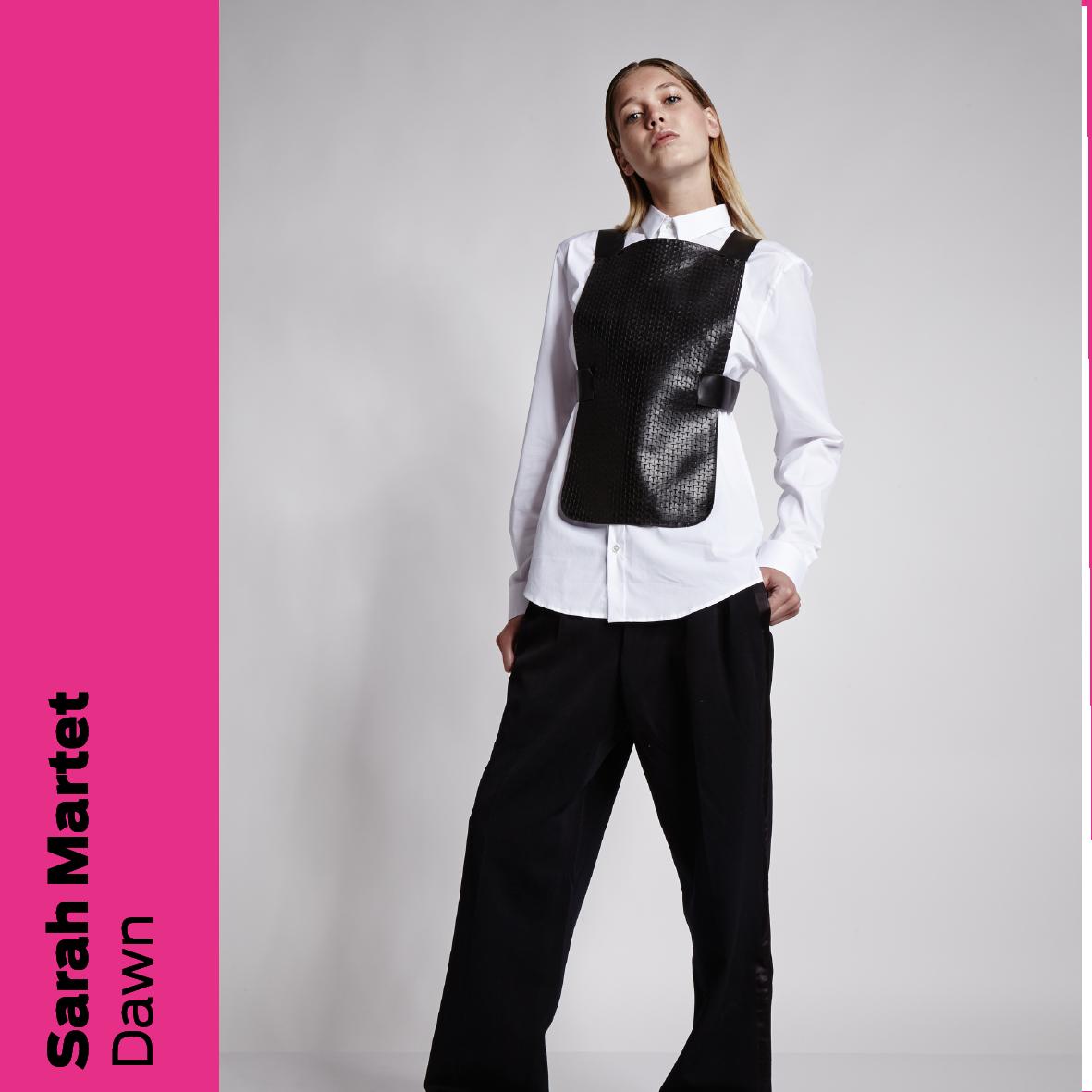 Sarah Martet (DK): Dawn - et multifunktionelt læderdesign / Dawn - a multifunctional leather design